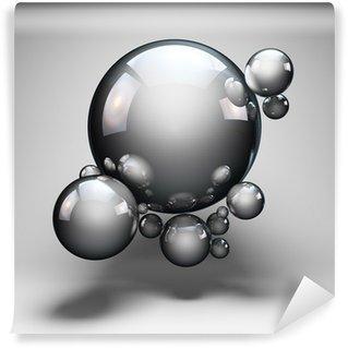 Fototapeta Winylowa Projektowanie abstrakcyjne kształty kul