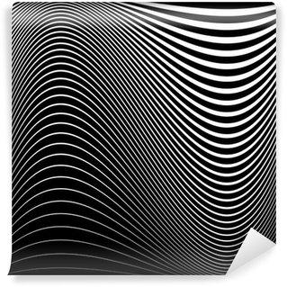 Fototapeta Winylowa Projektowanie iluzję ruchu monochromatyczne tło