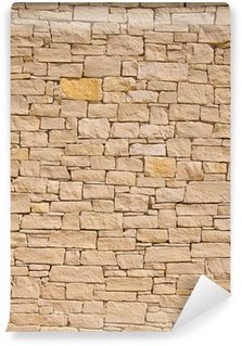 Vinylová Fototapeta Provensálská kamenná zeď pozadí
