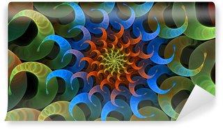 Fototapeta Winylowa Psychedelic Spiral
