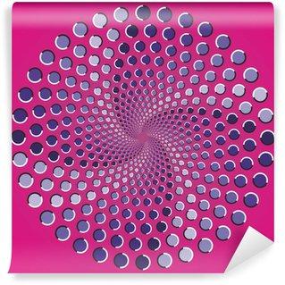 Fototapeta Winylowa Punkty elipsy kolor iluzja optyczna