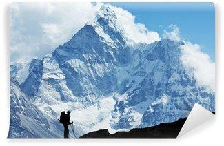 Vinylová Fototapeta Putování v Nepálu