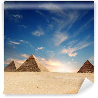 Vinylová Fototapeta Pyramida