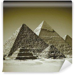 Vinylová Fototapeta Pyramides - Gizeh / Egypt