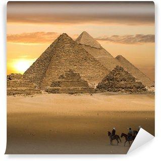 Vinylová Fototapeta Pyramidy fantasy