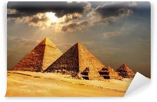 Vinylová Fototapeta Pyramidy v Gíze., Káhira, Egypt
