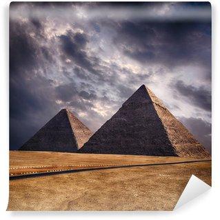 Vinylová Fototapeta Pyramidy v Gíze v Káhiře Egypt