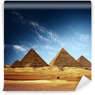 Vinylová Fototapeta Pyramidy