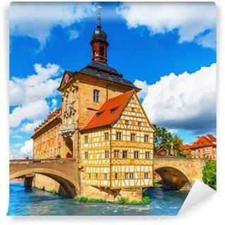 Vinylová Fototapeta Radnice v Bambergu, Německo