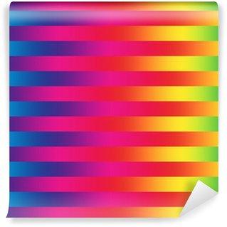 Vinylová Fototapeta Rainbow linky