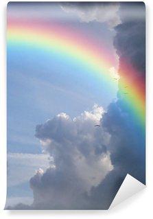 Vinylová Fototapeta Rainbow mraky