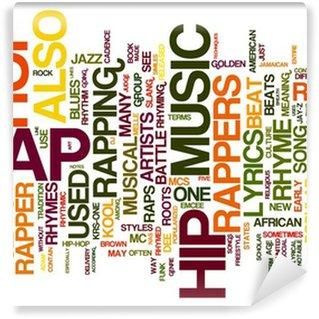Vinylová Fototapeta RAP Music