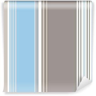 Vinylová Fototapeta Rayures bayadères bleu Bleuet gris myš (CS5)