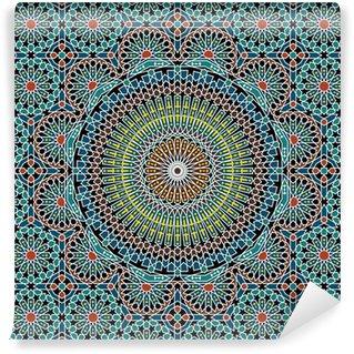 Vinylová Fototapeta Razil Moorish bezešvé vzor