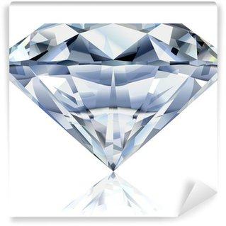 Vinylová Fototapeta Realistické diamant ilustrace