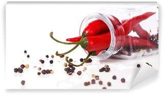 Vinylová Fototapeta Red chili pepper