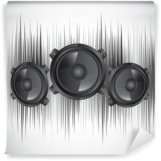 Vinylová Fototapeta Reproduktory