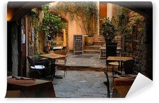 Vinylová Fototapeta Restaurace v Bormes les Mimosas