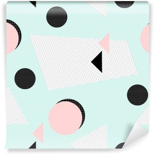 Vinylová Fototapeta Retro geometrický vzor
