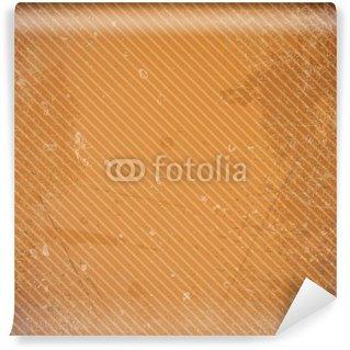 Vinylová Fototapeta Retro papírové pozadí Stripes Diagonal Rusty