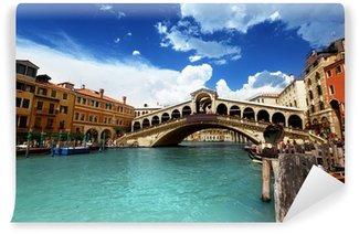 Vinylová Fototapeta Rialto most v Benátkách, Itálie