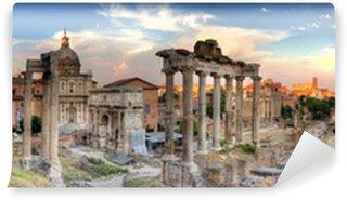Vinylová Fototapeta Řím hdr panoramatický výhled