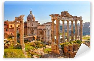 Vinylová Fototapeta Římské ruiny v Římě, Forum