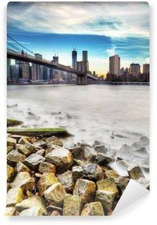 Fototapeta Vinylowa Rivage à New York.