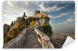 Vinylová Fototapeta Rocca Guaita della Hrad ve městě San Marino