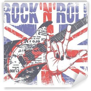 Vinylová Fototapeta Rock 'n' roll