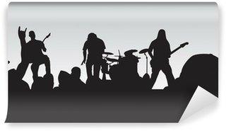 Vinylová Fototapeta Rockový koncert 4