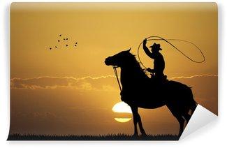 Vinylová Fototapeta Rodeo Cowboy