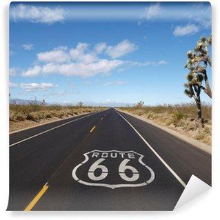 Vinylová Fototapeta Route 66 Mojave Desert