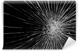Vinylová Fototapeta Rozbité sklo