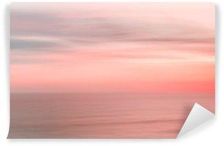 Vinylová Fototapeta Rozmazané západ slunce nebe a oceánů