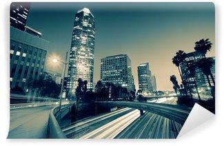 Fototapeta Winylowa Ruch Freeway w Los Angeles