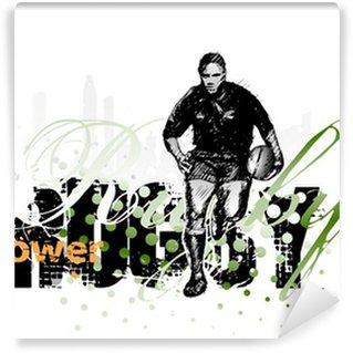 Vinylová Fototapeta Rugby 2