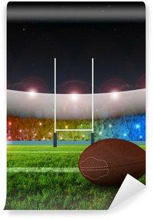 Vinylová Fototapeta Rugby penaltu - Noc