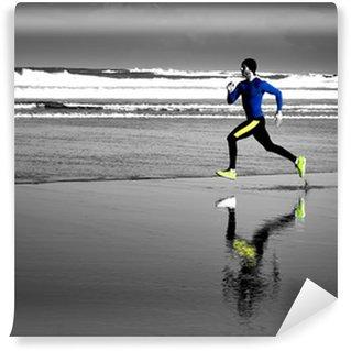 Vinylová Fototapeta Running Man
