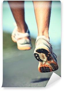Vinylová Fototapeta Runnning boty na běžec