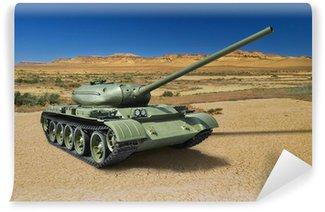 Vinylová Fototapeta Ruské sovětské střední tank T-54 z roku 1946