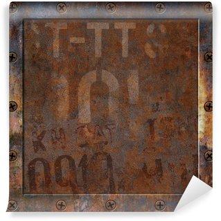 Vinylová Fototapeta Rusty Metal pozadí