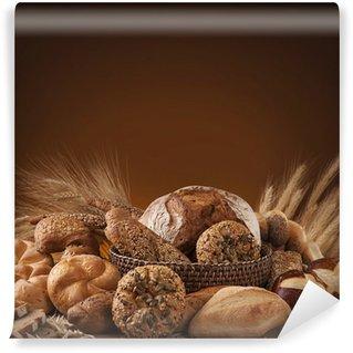 Vinylová Fototapeta Různé chléb