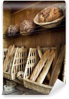 Vinylová Fototapeta Různé chleba v pekárně