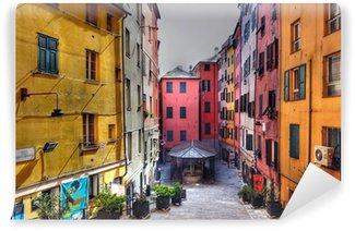 Fototapeta Winylowa Rynny z Santa Brigida, Genua (HDR)
