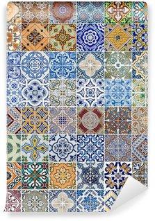 Vinylová Fototapeta Sada 48 keramických obkladů vzory