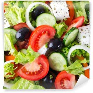 Vinylová Fototapeta Salát z čerstvé zeleniny