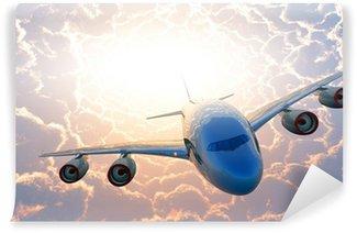 Fototapeta Winylowa Samolot pasażerski