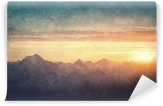 Fototapeta Samoprzylepna Grunge stylu krajobrazowego