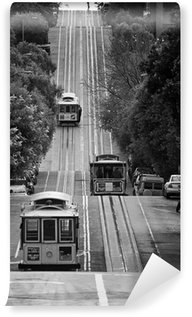 Vinylová Fototapeta San Francisco Street Cars